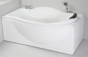 Ellipse Acrylic Whirlpool Bath Tub (JL815) pictures & photos
