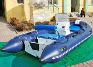 Rigid Hull Inflatable Boats Fiberglass Floor pictures & photos