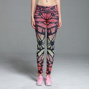 Wholesale Sexy Printed Fitness Gym Leggings Women′s Yoga Pants pictures & photos