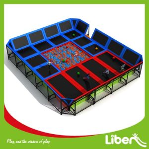 Liben Company Builder Indoor Trampoline Center with Foam Pit pictures & photos