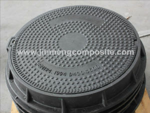 D400 C/O 600mm Composite Manhole Cover with Lock Bs En124 pictures & photos