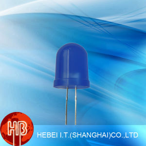 Diffused Lens LED Blue 10mm X-Types LED Diodes