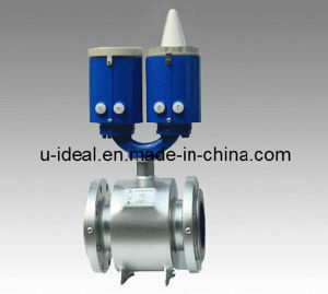 Battery Operated Type Fluid Magnetic Flow Meter pictures & photos