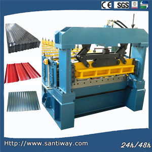 Ce Certificated Roof Panel Cold Roll Forming Machine for Export pictures & photos