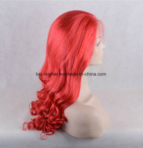 Auburn Color Full Handtied Remy Grade Hair Top Quality Silk Top Women Wig pictures & photos