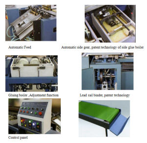 Automaitc Book Perfect Binding Machine (JBT50/4D) pictures & photos