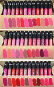 Menow M. N Matte Liquid Lipstick Waterproof Long Lasting Matte Cosmetics Lipgloss 38 Color pictures & photos