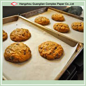 Grease Proof Cookies Baking Paper in Oven pictures & photos