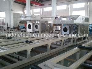 U-PVC/PVC Dual Pipe Production and Extrution Line pictures & photos