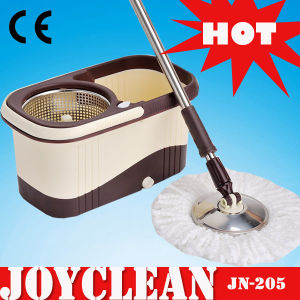 Joyclean Rotating Floor Magic Spin Mop with Stainless Steel Disc (JN-205) pictures & photos