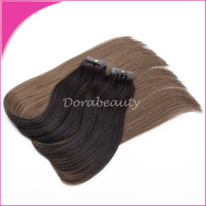 Factory Wholesale Adhesive Tape in Weft Human Hair Extensions pictures & photos