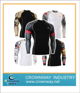 Long Sleeve Compression Sportswear & Cycling Jersey pictures & photos