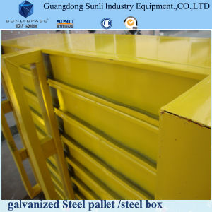Standard Dimension Steel Box Cage Pallet pictures & photos