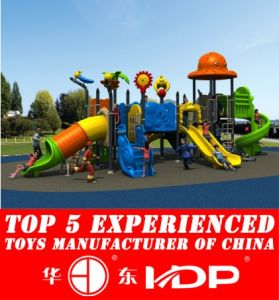 Huadong Kid′s Playground Slide (HD14-076A) pictures & photos