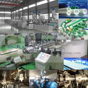 PPR/PE-Rt/Pex Small Diameter Pipe Extrusion Line pictures & photos