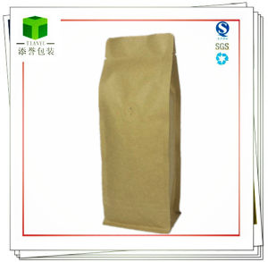 Kraft Paper Coffee Bags/Foil Lined Kraft Coffee Bag pictures & photos