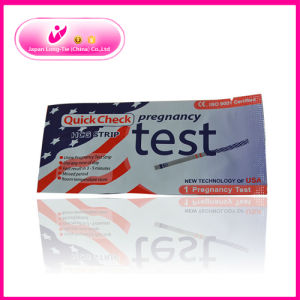 Urine Pregnancy Test Strip with OEM Service pictures & photos