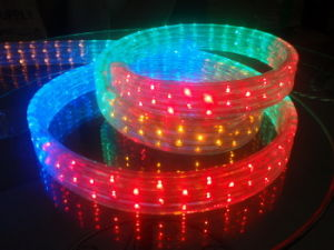 Steady RGB 5 Wire LED Flat Rope Light pictures & photos
