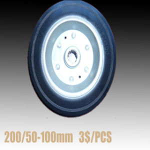 Rubber Wheels/Rubber Casters/Rubber Tyres