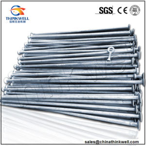 Forged Galvanized Steel Plate End Long Tie Rod pictures & photos