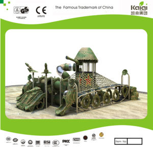 Kaiqi Small Military Tank Themed Children′s Playground (KQ20078A) pictures & photos