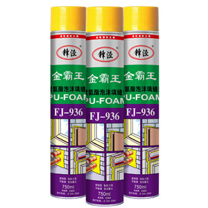 750ml One Component Expanding Polyurethane PU Foam Sealant Gap Filler pictures & photos