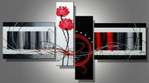 100% Handmade Canvas Art Modern Abstract Painting for Wall Decor (XD4-079) pictures & photos