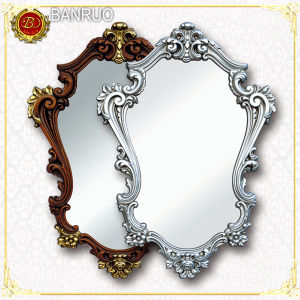 Hand Carved Decorative Wood Mirror Frame (PUJK01-F4+F9) pictures & photos