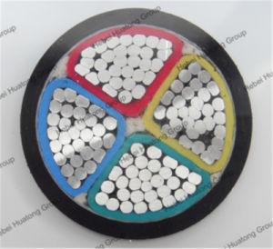 600/1000V 4 Core 120mm 150mm 185mm PVC Insulated Aluminum Power Cable pictures & photos