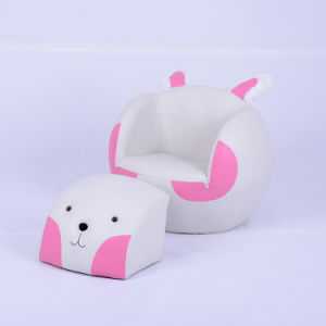 Rabbit Children Ball Sofa Chair and Ottoman (SXBB-24-01) pictures & photos