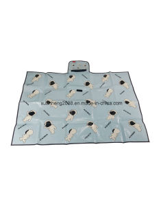 PP Woven Foldable Beach Mat Picnic Mat pictures & photos
