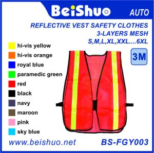 High-Visibility Refelctive Safety Vest with En471 pictures & photos