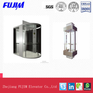 Indoor Sightseeing Elevator for Shopping Mall with Outer Glass Cover pictures & photos