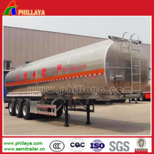 Crude Oil Fuel Storage Aluminum Truck Trailer Tankers for 50000liters pictures & photos