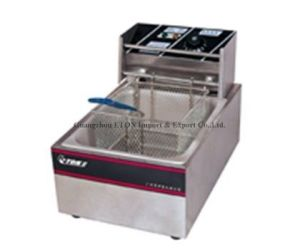 CE Cheap Price Electric Fryer Single Tank pictures & photos