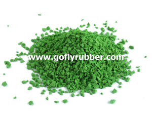 Green EPDM Rubber Granules