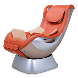 Electric Luxury Air Pressure Shiatsu Vibration Music 3D Massage Chair pictures & photos