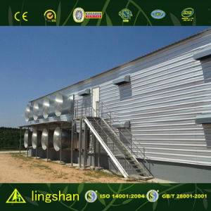 PU Sandwich Panel Poultry House (LS-FN-076) pictures & photos