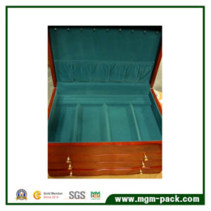 High Quality Finish Mirrored Wooden Jewelry Storage Box pictures & photos