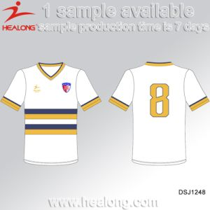 Customized Sublimation Reversible Soccer Jersey with High Quality pictures & photos