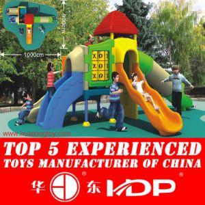Full Plastic Playground Equipment for Kindergarten pictures & photos