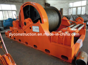 Fixed Winch with Failsafe Brake and Rope Spooling Device pictures & photos