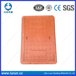 FRP BMC Rectangular Composite Manhole Cover with Frame pictures & photos