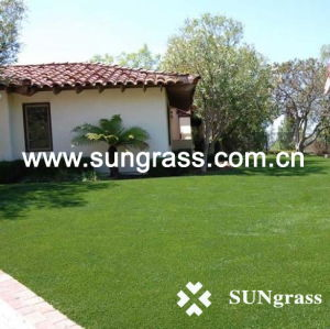 30mm Romantic Landscape/Garden Artificial Grass (QDS-30-6S) pictures & photos