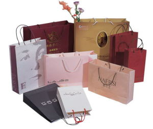 China Shopping Paper Bag Manufacture