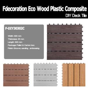 Interlocking Deck Tile Wood Plastic Composite pictures & photos