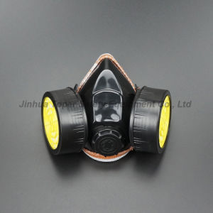 Anti-Paint Spray Dual Chemical Cartridge Respirator Safety Goggles (CR308) pictures & photos