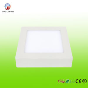 12W LED Die Casting Panel Light with CE RoHS