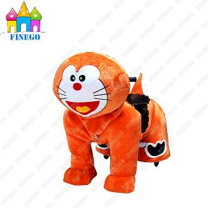 Finego New Park Amusements Indoor Zippy Toy Kiddie Riding Walking Animal pictures & photos