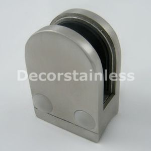 Stainless Steel D Shape Glass Clamp pictures & photos